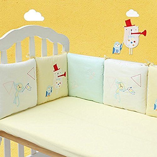 100% Cotton Percale Crib - 7