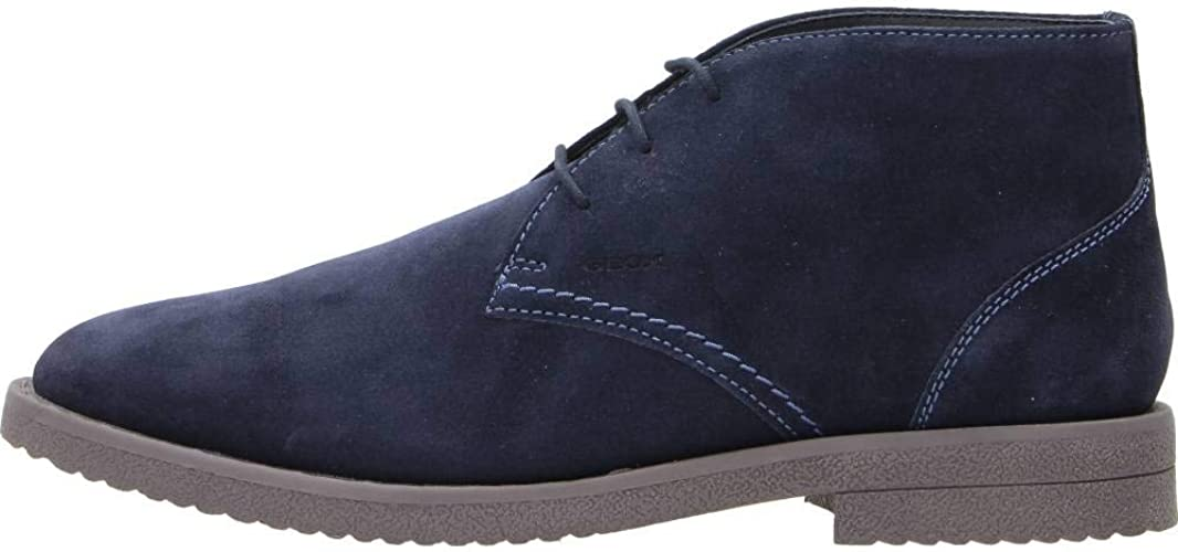Musgo Genealogía España  Geox Men's U Brandled B Chukka Boot: Amazon.co.uk: Shoes & Bags
