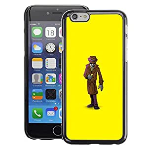 Planetar® ( Mystery Man Suit Cartoon ) Apple iPhone 6 / 6S (4.7 inches!!!) Fundas Cover Cubre Hard Case Cover