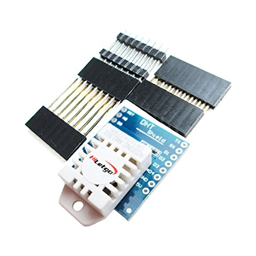 HiLetgo DHT22 Single Bus Digital Temperature and Humidity Sensor Shield D1 Mini Wemos
