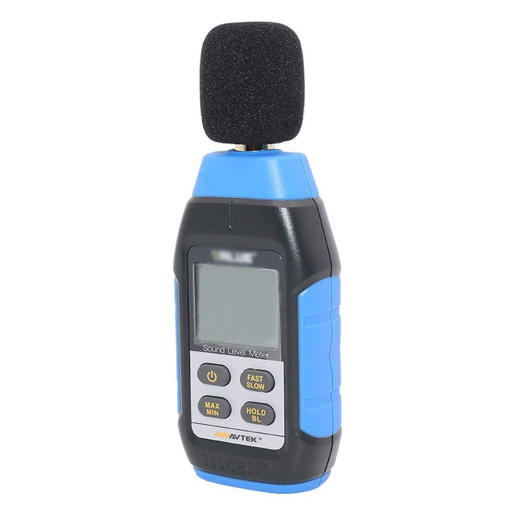 Decibel Meter LCD Large Screen Backlight Display Noise Meter Detector Decibel Meter Noise Tester High Precision Sound Level Meter Sound Measurement