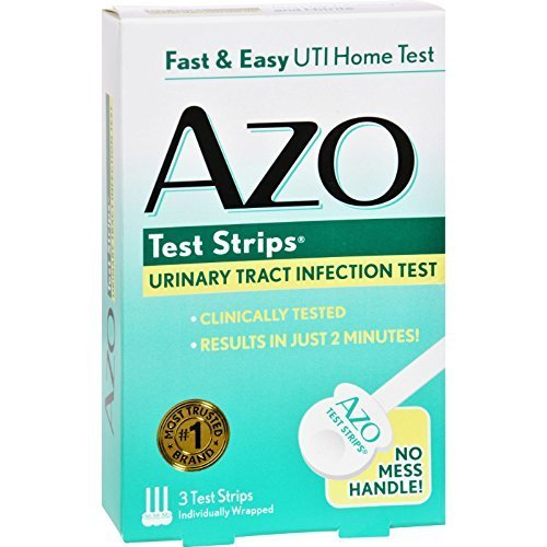 Azo Test Strips - 3 Test Strips Pack of 4