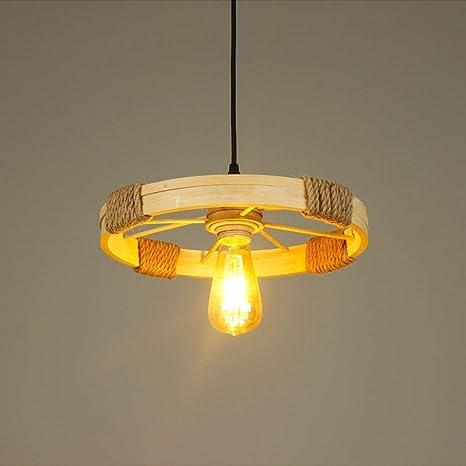 Lámparas de estilo rústico americano Lámpara de cabeza ...