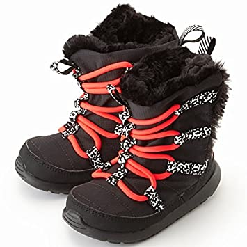 a83dddbc61f87 Nike Girls  Toddler Roshe One Hi Sneakerboot (PTV) 654493-002 Black Pink   Amazon.co.uk  Sports   Outdoors