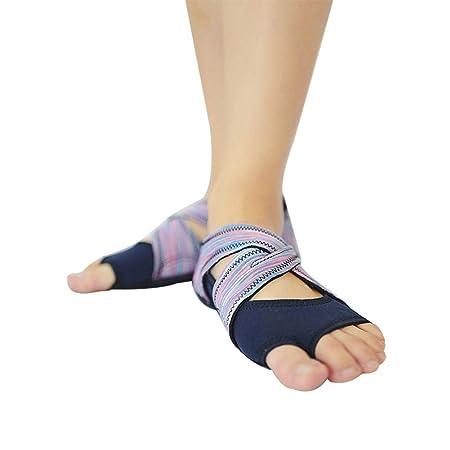 diallent13 Zapatillas de Yoga con Correa elástica, para ...