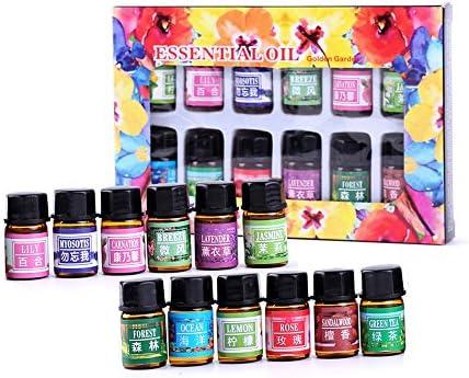 12 aroma/scatola puro aromaterapia olio essenziale cura della pelle bagno massaggio bellezza
