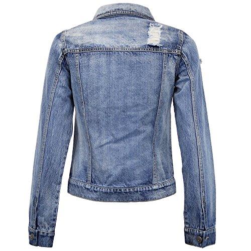 HARRIS By Ripped Brave Women Ladies Look Soul Denim Denim Jacket zxvUwqgnOB