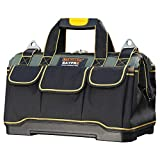 18 Inch Waterproof Tools Bag Close Top Heavy Duty Molded Base Tool Bag Storage Box with Shoulder Strap