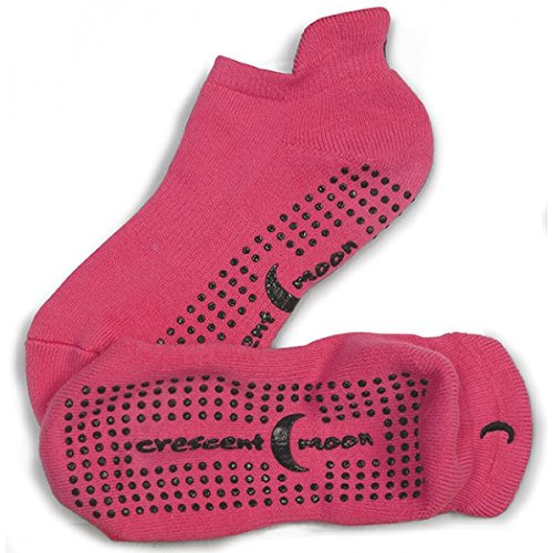 Non-slip Exersocks Value Pack (3-pair) (Medium, Pink)