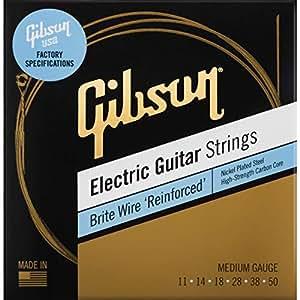 brite wire 39 reinforced 39 electric guitar strings medium musical instruments. Black Bedroom Furniture Sets. Home Design Ideas
