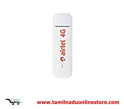 SHOPTRONIX Huawei E3372h-607 Airtel 150Mbps 4G LTE USB Dongle Stick Data  Card 2G/3G/4G All SIM Working