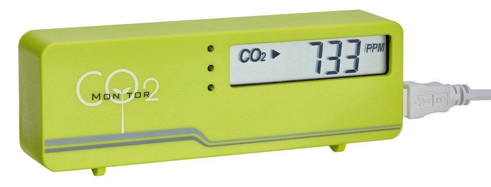 Monitoraggio TFA Dostmann AirControl Mini CO2 Meter TFA 31.5006 Air (verde)