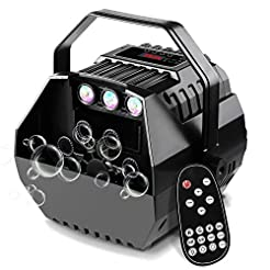 CrtWorld LED Bubble Machine For Kids Bub...