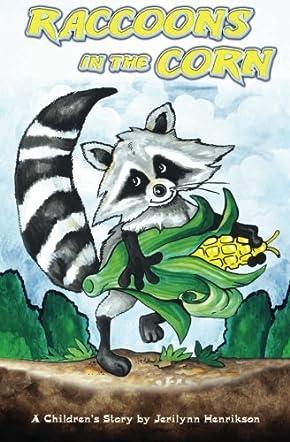 Raccoons in the Corn