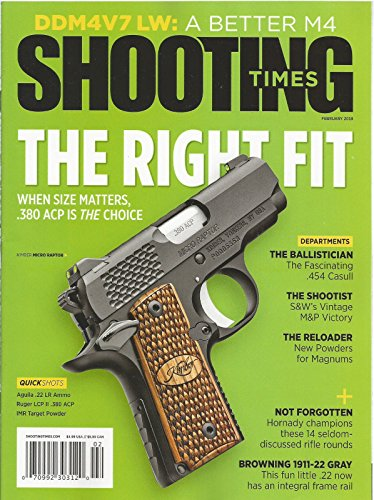 SHOOTING TIMES MAGAZINE FEBRUARY 2018 THE RIGHT - Rate Flat Usps Shipping International