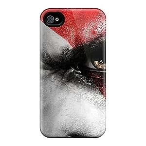 Hot Design Premium MybsUNj7077KGCIk Tpu Case Cover Iphone 4/4s Protection Case(god Of War) by lolosakes