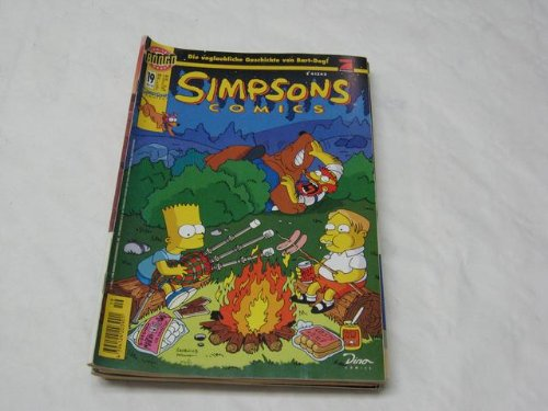 Simpsons Comics Nr.19 Comic – 1998 Matt Groening Bill Morrison Dino Verlag B002CC3DKI