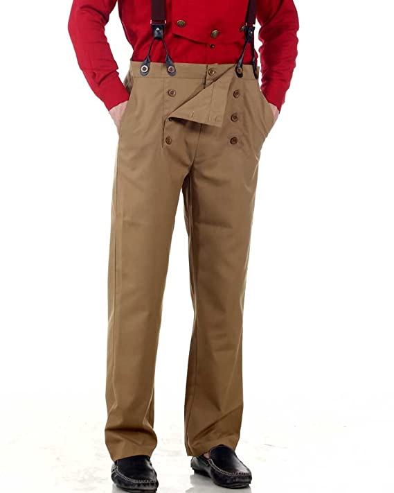 Men's Steampink Pants & Trousers Steampunk Victorian Costume Architect Pants  AT vintagedancer.com