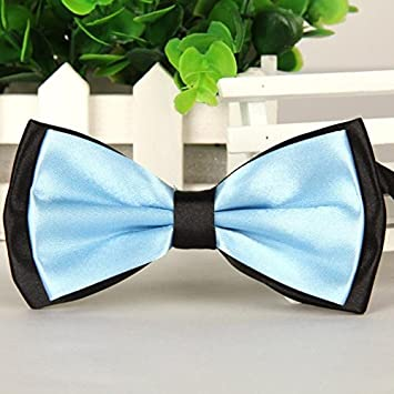 Bow Tie Wedding Necktie Satin Novelty Pre-Tied Adjustable Men Tuxedo Ties Party