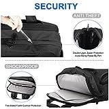 "Kuprine 15.6 Travel Business Slim Computer/Laptop Backpack for Men&Women, Lightweight Anti Theft College Backpacks for Laptops-UNDER 17"""