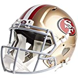 football 49ers helmet - San Francisco 49ers Officially Licensed Speed Full Size Replica Football Helmet
