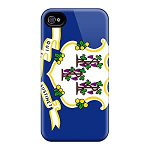 Awesome PaT10101gLti CarlHarris Defender Hard Cases Covers For Iphone 4/4s- Connecticut