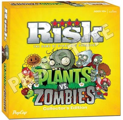 Risk( Plants vs. Zombies Collector's Edition( Risk( Plants vs. Zombies Collector's Edition)[RISK PLANTS VS ZOMBIES COLLECT][Other] - Usaopoly Collectors Toy