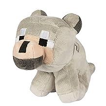 Minecraft Baby Wolf Plush Stuffed Toy