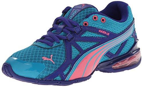 (PUMA Voltaic 5 JR Training Shoe (Infant/Toddler/Little Kid) , Capri Breeze/Fluo Pink/Clematis Blue, 6 M US Big Kid)