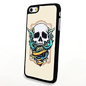 apply Phone Accessories Matte Hard Plastic Phone Cases Cartoon Skull Vintage Style fit For HTC One M7 Case Cover