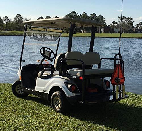 Amazon.com: Carrito de golf club de asiento trasero ...