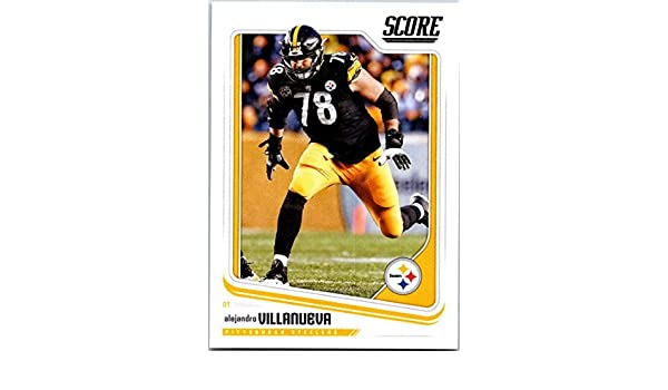 d1140254e Amazon.com  2018 Score  274 Alejandro Villanueva Steelers  Collectibles    Fine Art