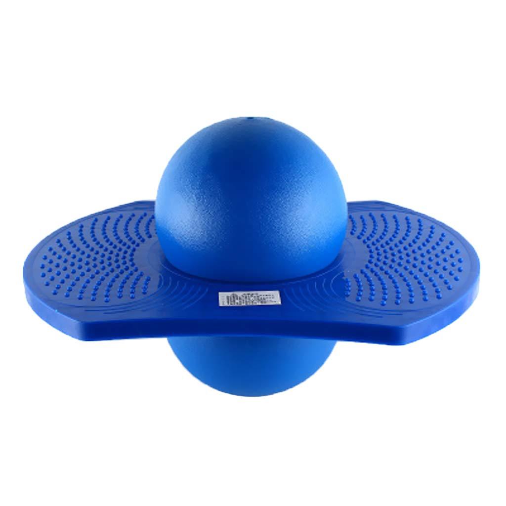 avec Plateforme pour lEquilibre Gonflable Homyl 2pcs Ballon Sauteur de Sport pour Adulte Enfants