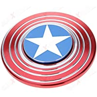 AllExtreme Captain America Hand Spinner, Red