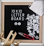 Best unknown Friends Gifts Signs - Felt Letter Board with 340 Letters, Numbers Review