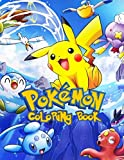 Pokemon Coloring Book: 57 Illustrations | Great