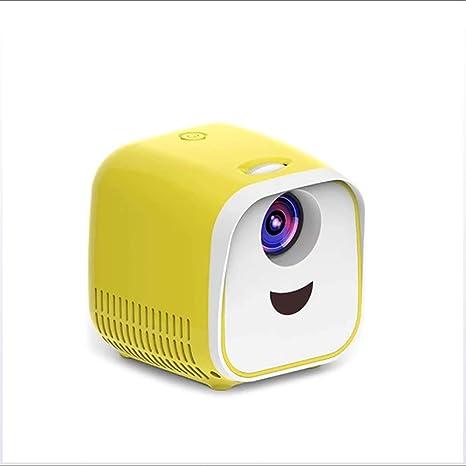 Mini Proyector, LED Inicio Proyector De Cine Full HD 1080P Apoyado ...