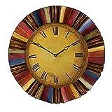 Cheap SEI Ojeda Wall Decor Clock, Multicolor