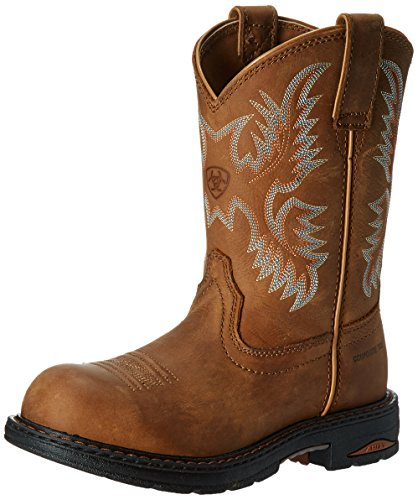 Brn Ariat H2O Pull Dusty On Toe Women's Composite Boot Tracey qqPOFwv