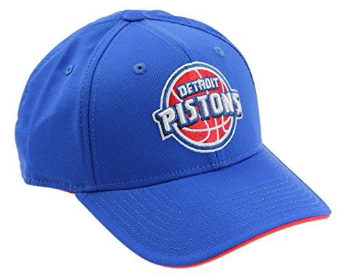 - adidas NBA Men's Detroit Pistons 2-Tone Snapback Cap, Blue