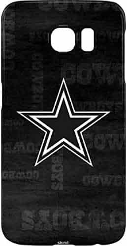 fcd5be13270668 Skinit NFL Dallas Cowboys Galaxy S7 Edge Lite Case - Dallas Cowboys Black & White  Design