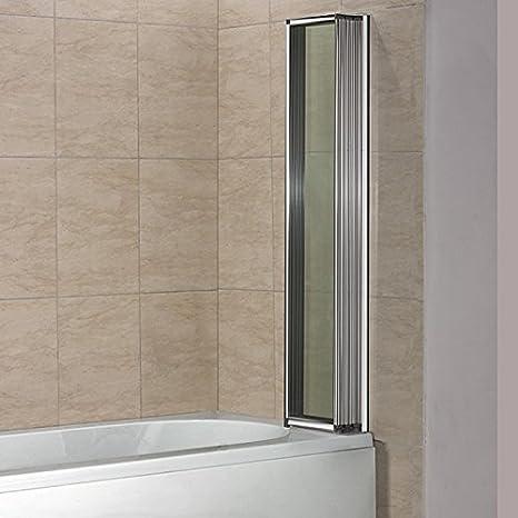 Mamparas pantalla para bañera biombo baño 5 veces plegable ...