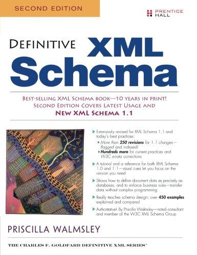 Definitive XML Schema, 2nd Edition by Prentice Hall