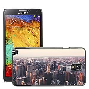 Etui Housse Coque de Protection Cover Rigide pour // M00170183 Nueva York Edificio Chrysler Nyc // Samsung Galaxy Note 3 III N9000 N9002 N9005
