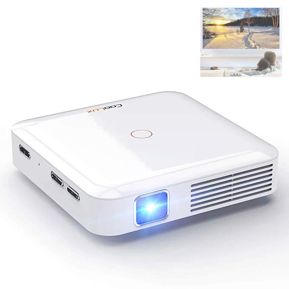 Micro Projector Home HD Android Mini Mobile Projector Portable 130 ANSI Lumens