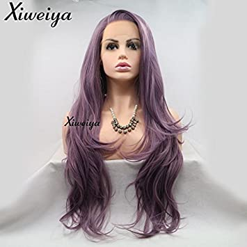 Xiweiya Long Body Wave Cheveux Lace Front
