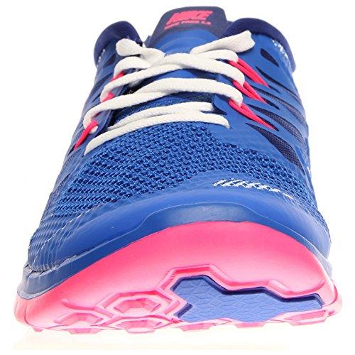 Nike Free 5.0 (GS) Unisex-Kinder Laufschuhe Blue