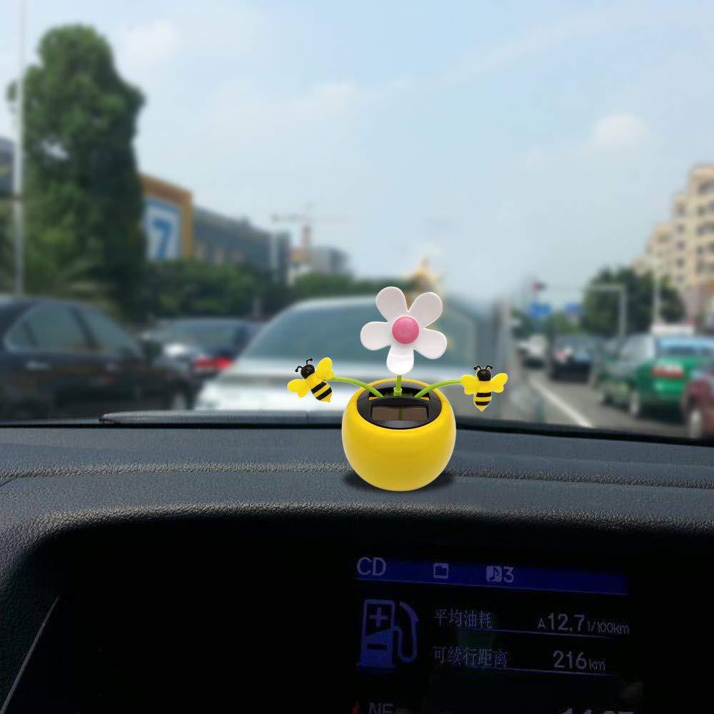 Ornaments Car Styling Car Ornament Solar Powered Animal Doll Cute Dashboard Decoration Swing Monkey Auto Interior Accessories Plastic Cheap Sales 50%