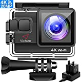 Victure 4K Action Camera 20MP WiFi Underwater Camera!