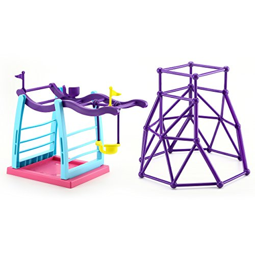 Finger Monkey Jungle Gym and Swing Stand Play Set  Finger Monkey Jungle Swing Gym Playset, Finger Monkey Playset for Kids, Indoor and Outdoor Playset, Perfect Finger Monkey Accessories Gift